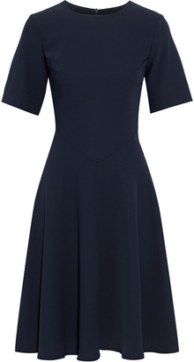 Iris & Ink Ellen Flared Crepe Dress