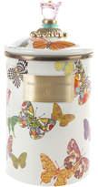 Mackenzie Childs Butterfly Garden Enamel Canister