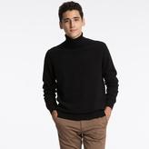 Men 100% Cashmere Turtle Neck Sweater