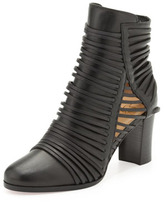 Christian Louboutin Parciparla Leather Bootie, Black