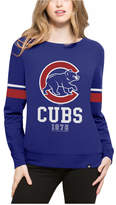 '47 Women's Chicago Cubs Throwback Crew Sweatshirt