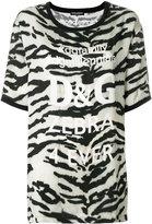 Dolce & Gabbana zebra print T-shirt