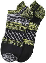 Joe Fresh Men's Cushioned Sport Sock, Black (Size 10-13)