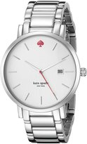 Kate Spade Women's Gramercy Grand 1YRU0008 Silver 1 Watch