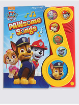 Marks and Spencer Little Musical Note Paw PatrolTM Book