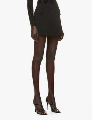 Alex Perry Izzy crepe mini skirt