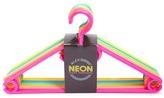 Forever 21 Neon Coat Hanger Set