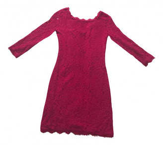 Diane von Furstenberg Pink Lace Dresses
