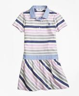 Brooks Brothers Cotton Multistripe Dress