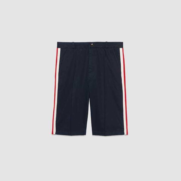 Gucci Cotton short with Web