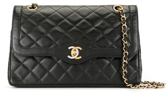 Chanel Pre Owned 1990 Double Flap shoulder bag
