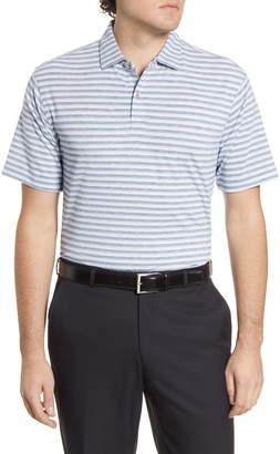 Peter Millar drirelease(R) Natural Touch Stripe Performance Polo