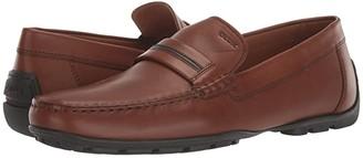 Geox Moner (Grey Suede) Men's Shoes