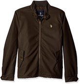 U.S. Polo Assn. Men's P.U. Barracuda Jacket