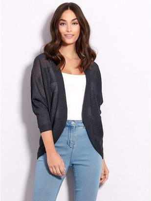 M&Co Curve front edge to edge cardigan