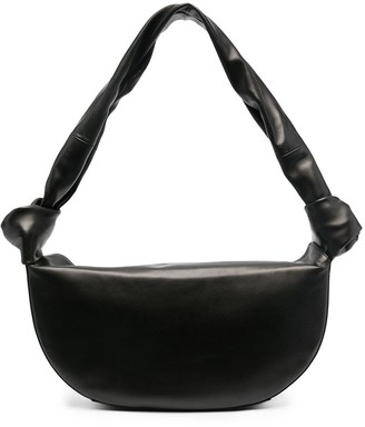 Little Liffner Double Knot Leather Shoulder Bag