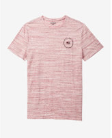 Express Space Dye Flag Circle Graphic T-shirt