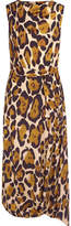 Vivienne Westwood Vasari Leopard-print Jersey Midi Dress