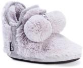 Muk Luks Amira Faux Fur Lined Slipper