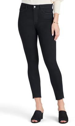 Sam Edelman The Stiletto High Waist Raw Hem Crop Skinny Jeans