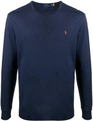 Polo Ralph Lauren long-sleeved logo T-shirt