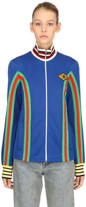 Gucci Zip-up Techno Blend Track Jacket
