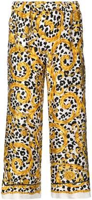 P.A.R.O.S.H. baroque print trousers