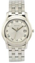 Gucci 5500M Stainless Steel With Silver Dial Quartz 35mm Mens Watch