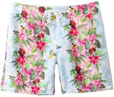Sauvage St. Tropez Tropical Jungle Print Boardshort 8128931