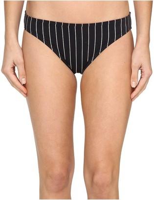 Vince Camuto Women's Port Villa Stripe Classic Bikini Bottom