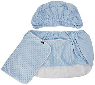 Isabella Collection Alicia Blue Dimples Moses Basket Dressing, 0.4 kg