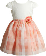 Sweet Heart Rose Plaid Skirt Dress, Toddler & Little Girls (2T-6X)