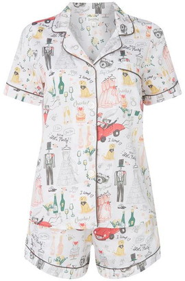 BedHead Happily Print Pyjama Set