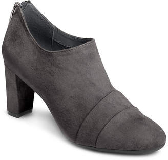 Aerosoles A2 BY  Womens Central Ave Zip Round Toe Booties