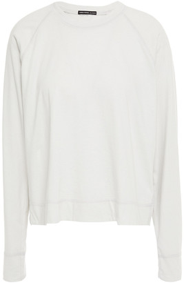 James Perse Raglan Cotton-jersey Top