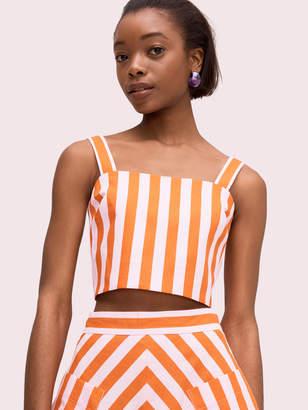 Kate Spade Deck Stripe Crop Top