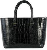 Victoria Beckham Black Leather Handle Bag