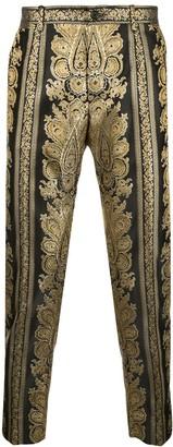 Dolce & Gabbana Tailored Jacquard Trousers
