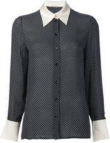 Saint Laurent star print shirt - women - Viscose - 46