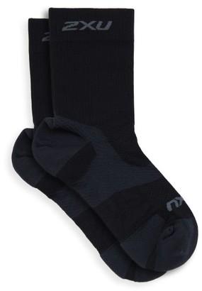2XU Vectr Light Cushion Socks - Black