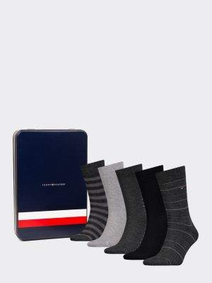 Tommy Hilfiger 5-Pack Men's Stripe Socks