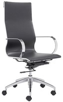 ZUO Glider High Back Office Chair Black