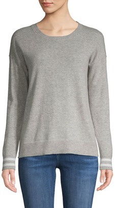 Amicale Long-Sleeve Cashmere Sweater