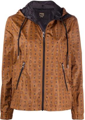 MCM Logo Print Jacket