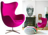 Ciel Armchair, Cocoon Egg Style, Modern Arm Chair