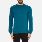 Ps By Paul Smith Crew Neck Jumper Blue
