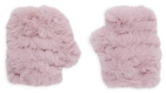 Jocelyn Mandy Faux Fur Fingerless Mittens