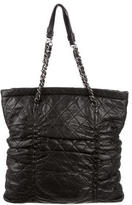 Chanel Quilted Sharpei Tote