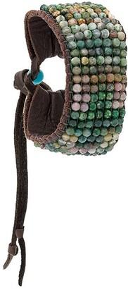 Stormie Beaded Cuff Bracelet