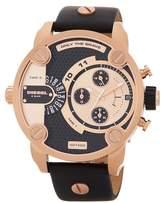 Diesel Men's Little Daddy Leather Strap Watch